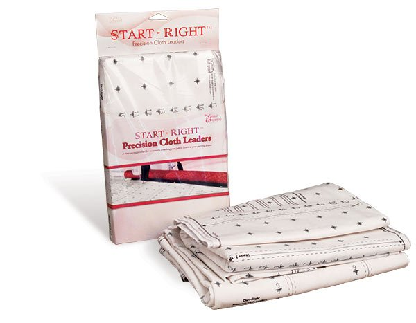 Start-Right quilting cloth leaders