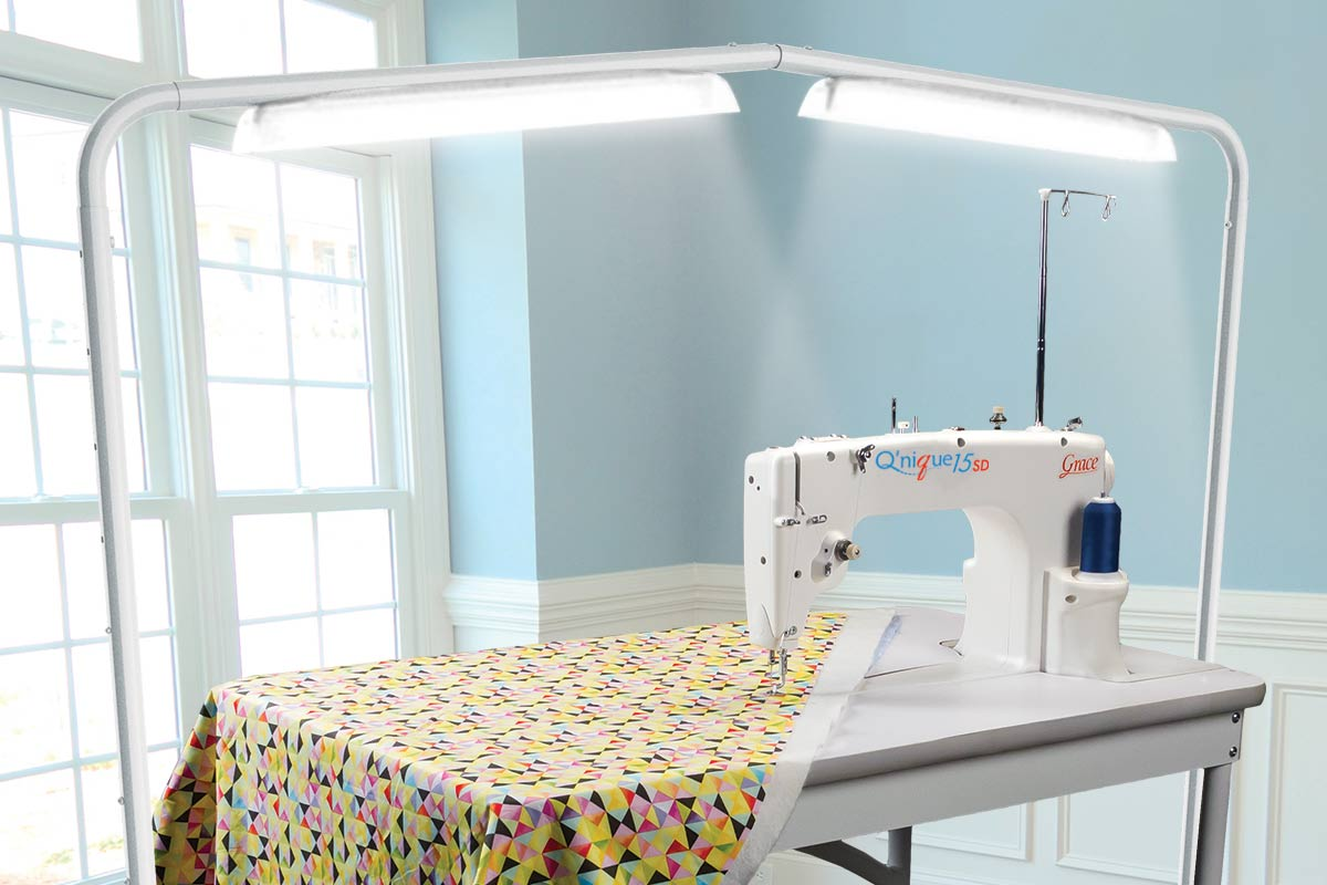 Luminess Light for sit-down quilting machine