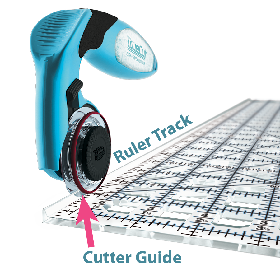 TrueCut Ruler Track and Cutter Guide