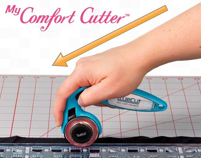 rotary cutter wrist alignment