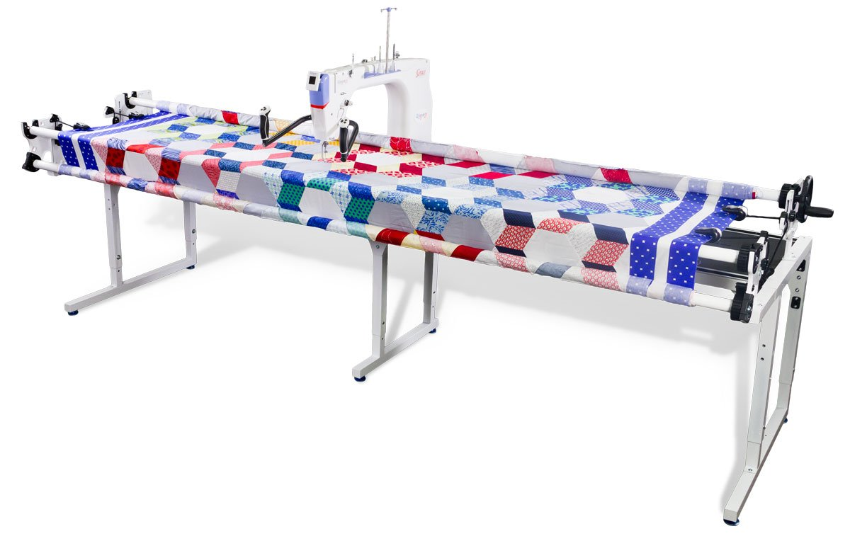GQ machine quilting frame