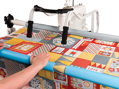 Machine Quilting Frames The Grace Company Classy Quilting Frame For Domestic Sewing Machine