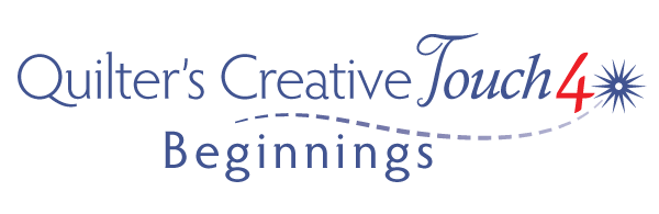 Quilters Creative Touch 4 Beginnings logo