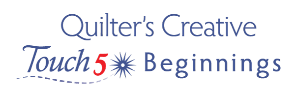 Quilters Creative Touch 5 Beginnings logo