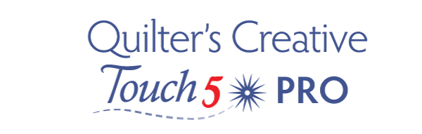Quilters Creative touch 5 Standard logo