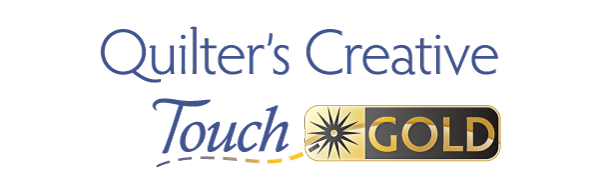 Quilter's Creative Touch Gold Logo