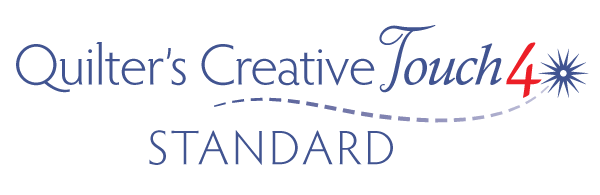 Quilters Creative Touch 4 Standard logo