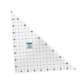 Right angle quilting ruler