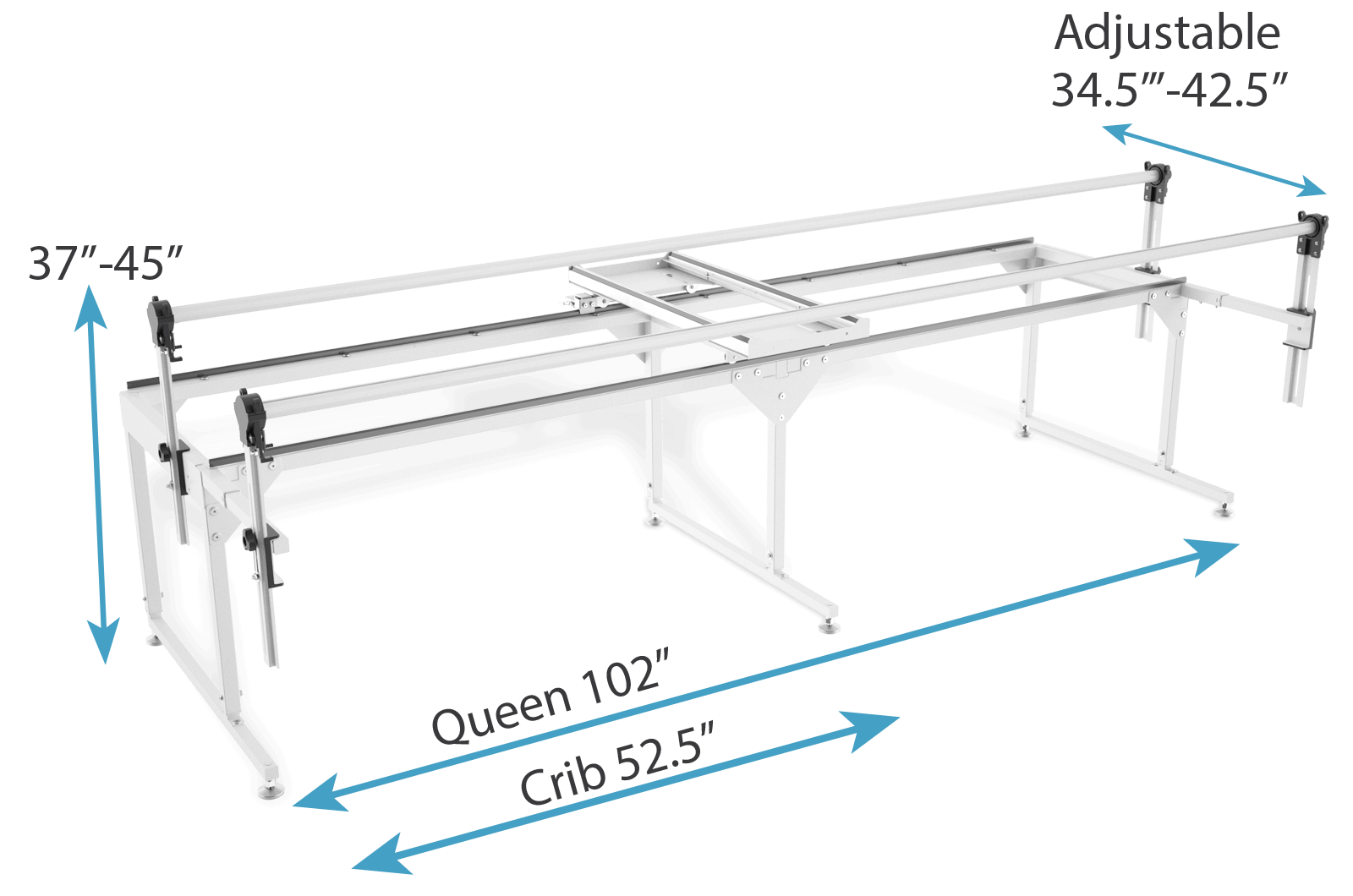 Q-Zone Queen frame size