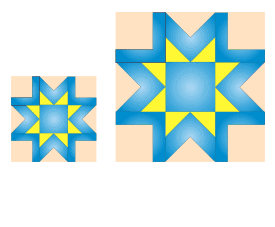 Q'nique larger quilting blocks