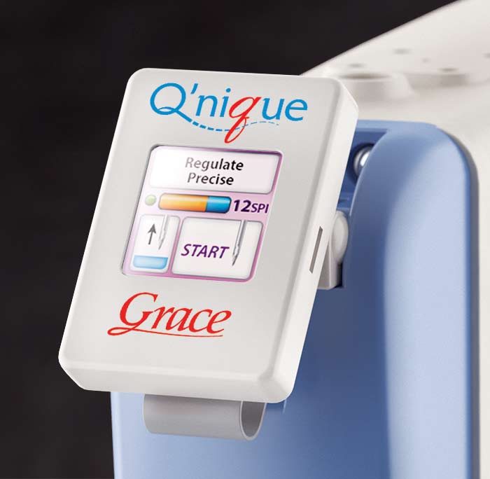 qnique quilting machine screen