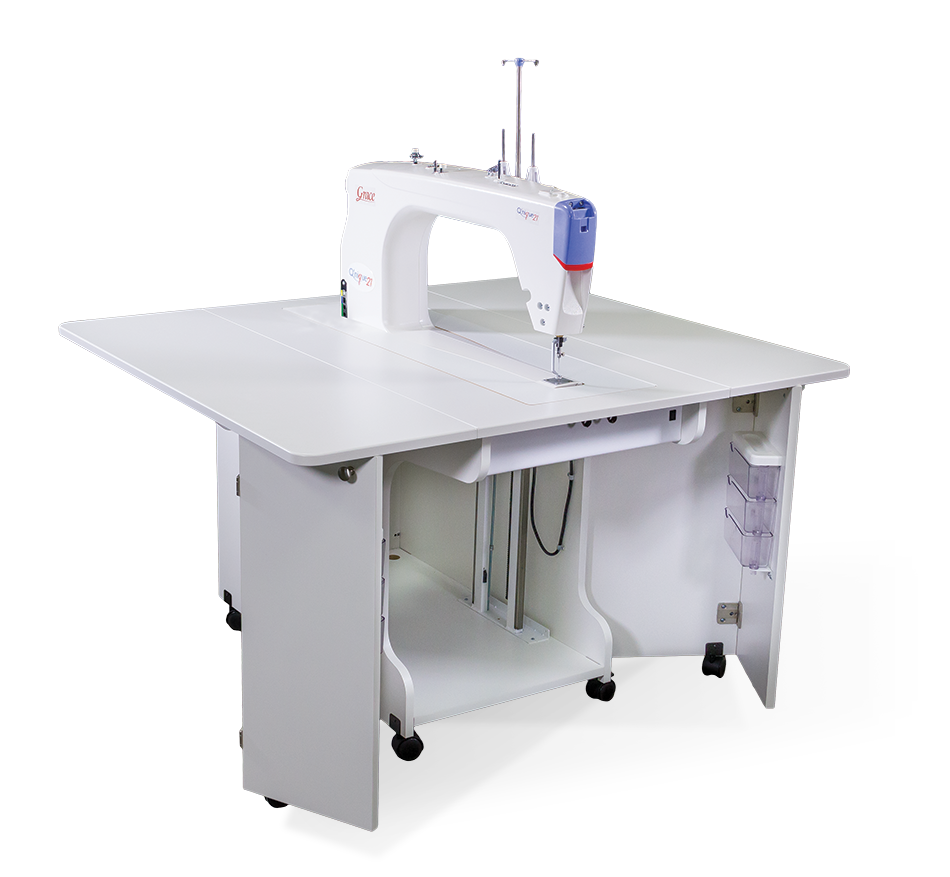 Q'nique 21 longarm Sit-down quilting machine