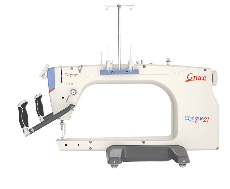 Q'nique 21 longarm quilting machine