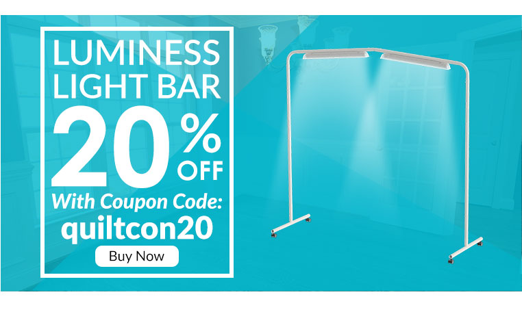 Quiltcon Luminess Coupon Code