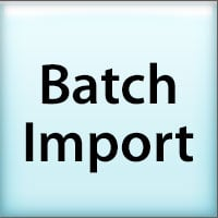 batch import tutorial