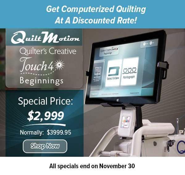 QCT4 Beginnings on sale $2999