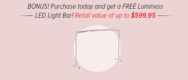 Free Light Bar with purchase