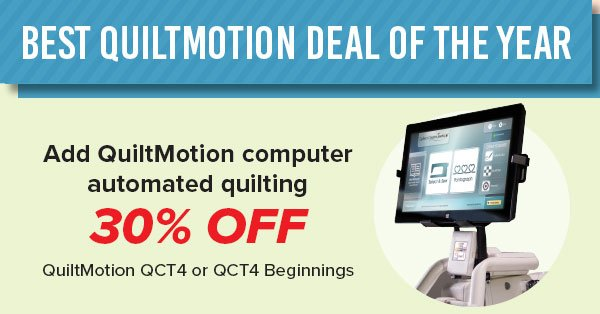 Sale on QuiltMotion