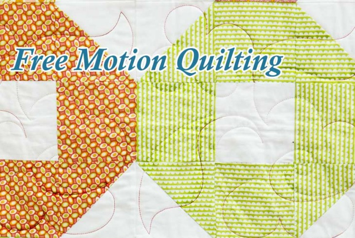 Free Motion Machine Quilting image